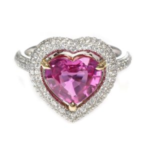 Los Angeles Pink Sapphire Ring