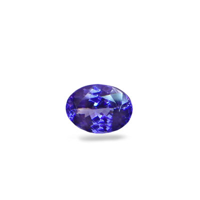 tanzanite oval diamond ring