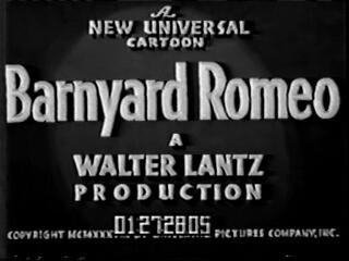 Barnyard Romeo