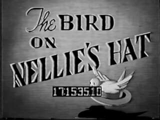 The Bird on Nellie's Hat