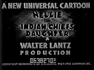 Nellie the Indian Chief's Daughter