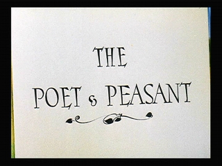 The Poet and Peasant