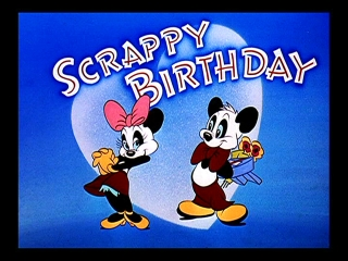 Scrappy Birthday