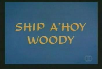 Ship A'hoy Woody