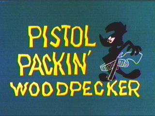 Pistol Packin' Woodpecker