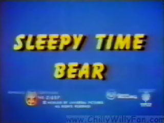 Sleepy Time Bear