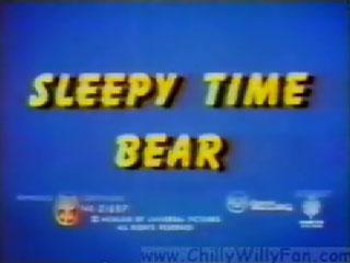 Sleepy Time Bear
