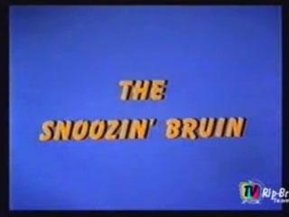 The Snoozin' Bruin
