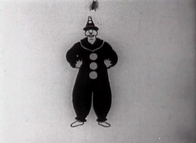 Screenshots from the 1919 Bray Studios cartoon Tantalizing Fly