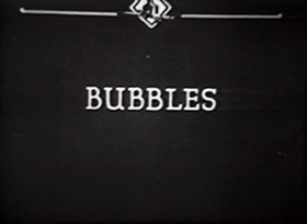 Screenshots from the 1922 Inkwell Studios cartoon Bubbles