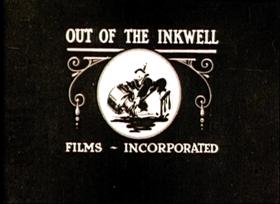 Screenshots from the 1922 Inkwell Studios cartoon Jumping Beans