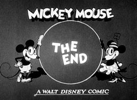 Screenshots from the 1929 Disney cartoon The Plowboy