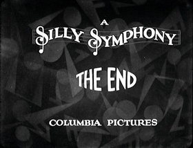 Screenshots from the 1929 Disney cartoon Hell