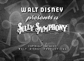 Screenshots from the 1929 Disney cartoon The Merry Dwarfs