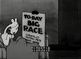 Screenshots from the 1929 Walter Lantz cartoon Race Riot