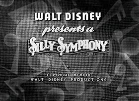 Screenshots from the 1930 Disney cartoon Summer