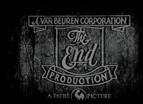 Screenshots from the 1930 Van Beuren cartoon Circus Capers