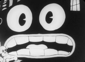 Screenshots from the 1930 Pat Sullivan Cartoons cartoon Skulls and Sculls