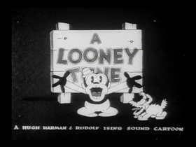 Screenshots from the 1930 Warner Brothers cartoon Sinkin