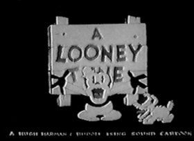 Screenshots from the 1930 Warner Brothers cartoon Congo Jazz