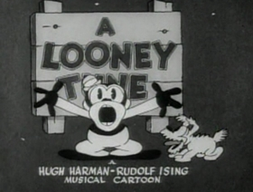 Screenshots from the 1930 Warner Brothers cartoon Hold Anything