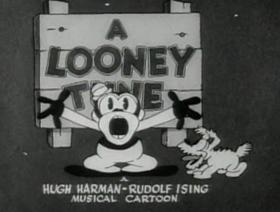 Screenshots from the 1930 Warner Bros. cartoon Hold Anything