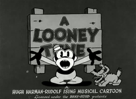 Screenshots from the 1930 Warner Brothers cartoon The Booze Hangs High