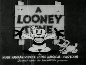 Screenshots from the 1931 Warner Brothers cartoon Ain