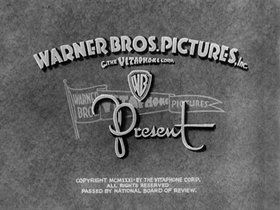 Screenshots from the 1931 Warner Brothers cartoon One More Time