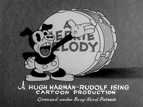 Screenshots from the 1931 Warner Brothers cartoon You Don