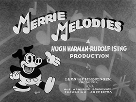 Screenshots from the 1931 Warner Bros. cartoon You Don