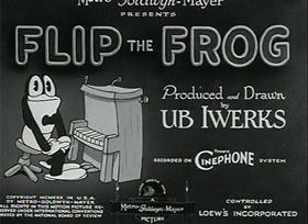 Screenshots from the 1931 Ub Iwerks cartoon The Cuckoo Murder Case
