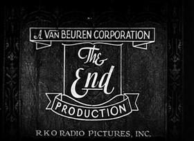 Screenshots from the 1932 Van Beuren cartoon Plane Dumb