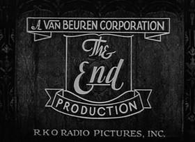 Screenshots from the 1932 Van Beuren cartoon Jolly Fish