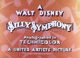 Screenshots from the 1932 Disney cartoon King Neptune