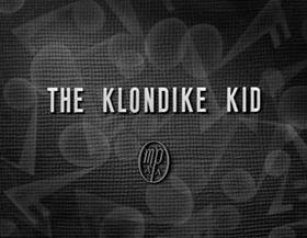 Screenshots from the 1932 Disney cartoon The Klondike Kid