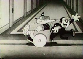 Screenshots from the 1932 Columbia cartoon Ritzy Hotel