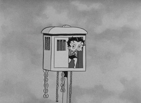 Screenshots from the 1932 Fleischer Studio cartoon Betty Boop