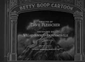 Screenshots from the 1932 Fleischer Studio cartoon I