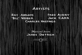 Screenshots from the 1932 Walter Lantz cartoon Carnival Capers