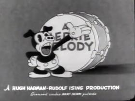Screenshots from the 1932 Warner Brothers cartoon Goopy Geer
