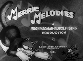 Screenshots from the 1932 Warner Brothers cartoon It
