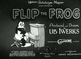 Screenshots from the 1932 Ub Iwerks cartoon Spooks