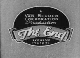 Screenshots from the 1933 Van Beuren cartoon A.M. to P.M.
