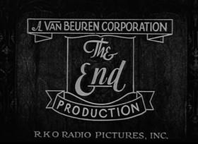 Screenshots from the 1933 Van Beuren cartoon Happy Hoboes