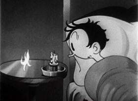 Screenshots from the 1933 Van Beuren cartoon Hook and Ladder Hokum