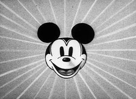 Screenshots from the 1933 Disney cartoon Building a Building