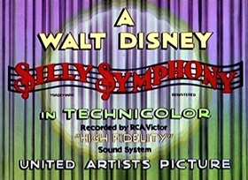 Screenshots from the 1933 Disney cartoon The Pied Piper