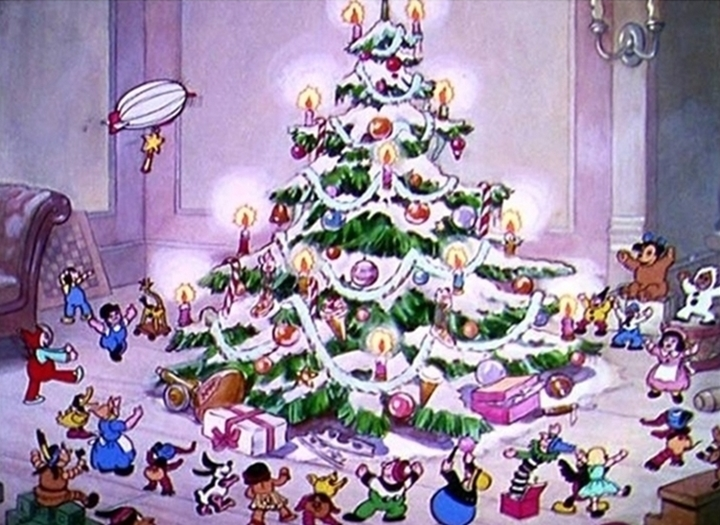 the night before christmas 1933 the internet animation database - Old Animated Christmas Movies