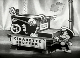 Screenshots from the 1933 Fleischer Studio cartoon Betty Boop